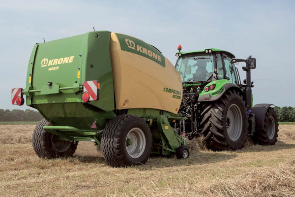 Krone | Comprima Round Balers | Model Comprima F 125 for sale at Columbus, Elmer, Marlboro, Hammonton, Columbia, NJ