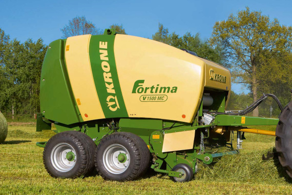 Krone | Fortima Round Balers | Model Fortima V 1500 MC for sale at Columbus, Elmer, Marlboro, Hammonton, Columbia, NJ