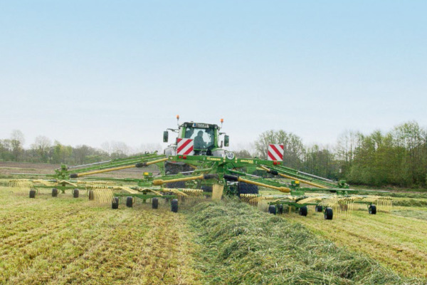 Krone | Four-Rotor Rakes | Model Swadro 1400 Plus for sale at Columbus, Elmer, Marlboro, Hammonton, Columbia, NJ