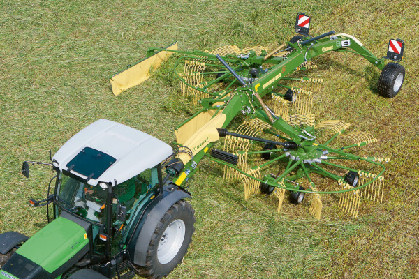 Krone | Twin Rotor Side Delivery Rakes | Model Swadro TS 740 Twin for sale at Columbus, Elmer, Marlboro, Hammonton, Columbia, NJ