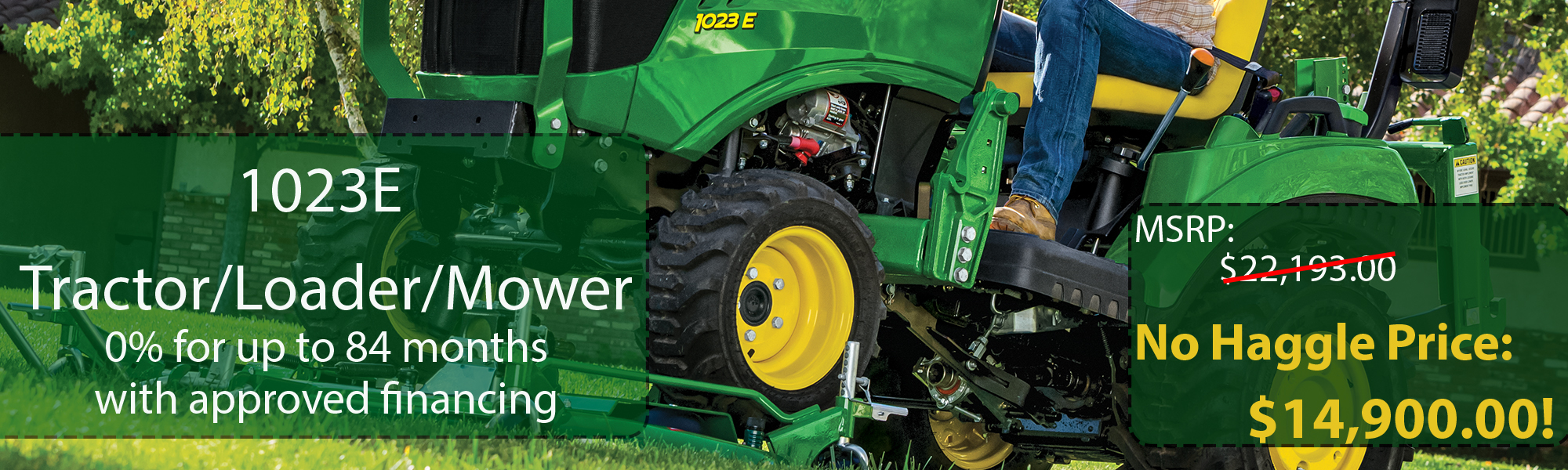 John Deere Equipment Dealer | Sub-Compact Tractors | Compact Utility