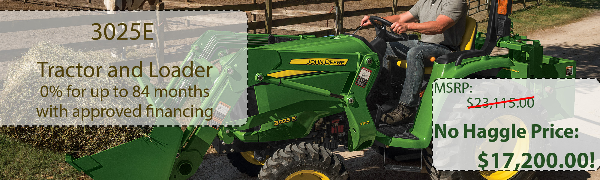 John Deere Equipment Dealer | Sub-Compact Tractors | Compact