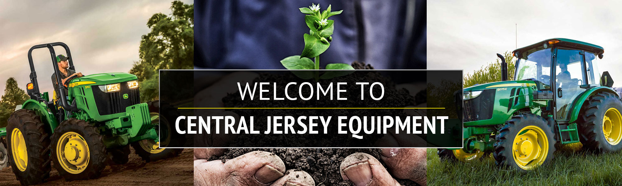 Welcome to Central Jersey Equipment - Your local John Deere, Stihl and Honda equipment Dealer