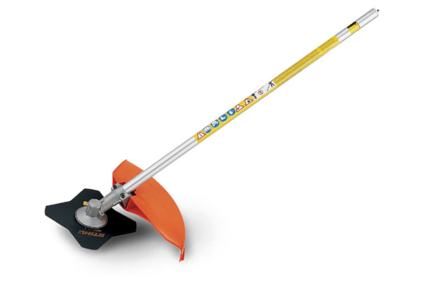 Stihl FS-KM Brushcutter with 4 Tooth Grass Blade for sale at Columbus, Elmer, Marlboro, Hammonton, Columbia, NJ