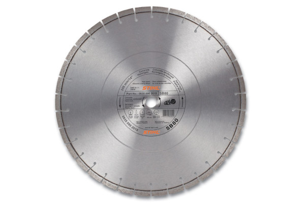 Stihl D-SB80 Diamond Wheel - Premium Grade for sale at Columbus, Elmer, Marlboro, Hammonton, Columbia, NJ